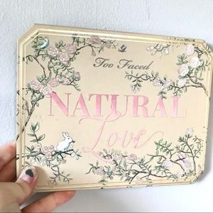 ••Too Faced Natural Love Palette••